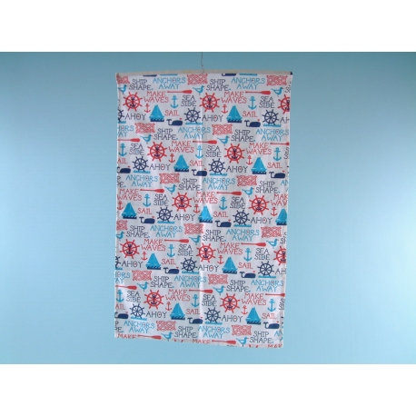 Ship Ahoy Galley Cloth