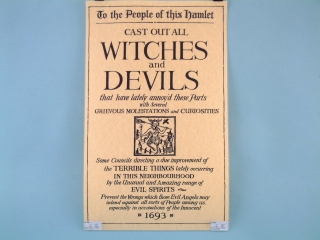 Witches & Devils Poster