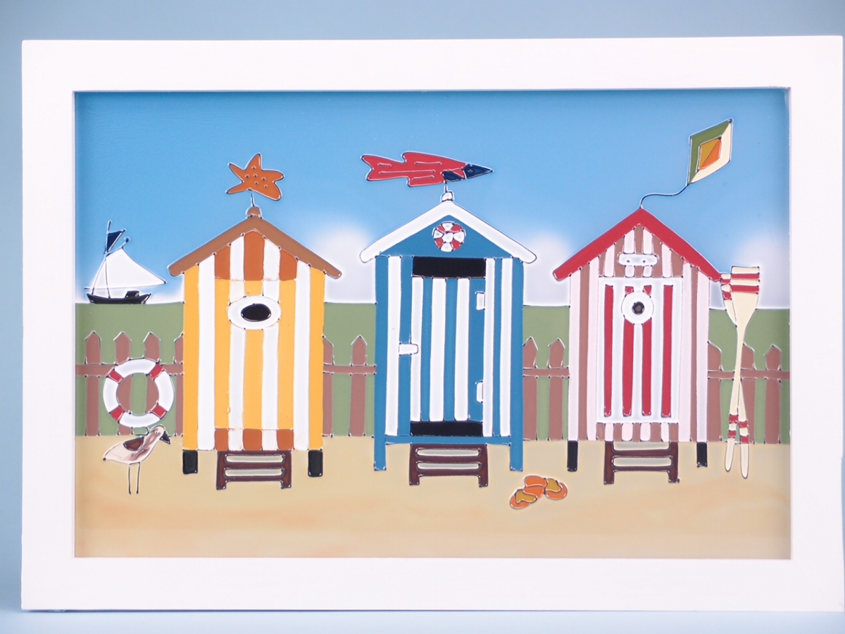Beach Huts Scarboprough
