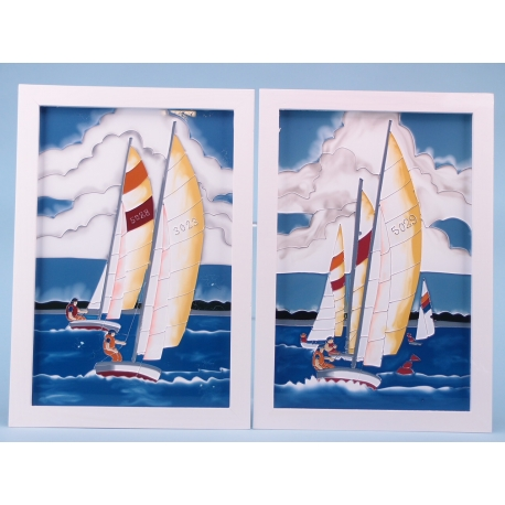 Seaside Scenes Sailing Yachts