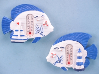 Fish Thermometer Magnet - 7.3 x 5.5cm