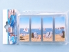 Fridge magnet set - seaside scene