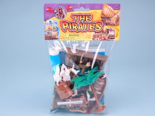 Pirate Play Set with Playmat