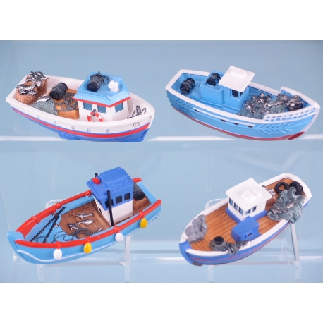 Resin Fishing Boats