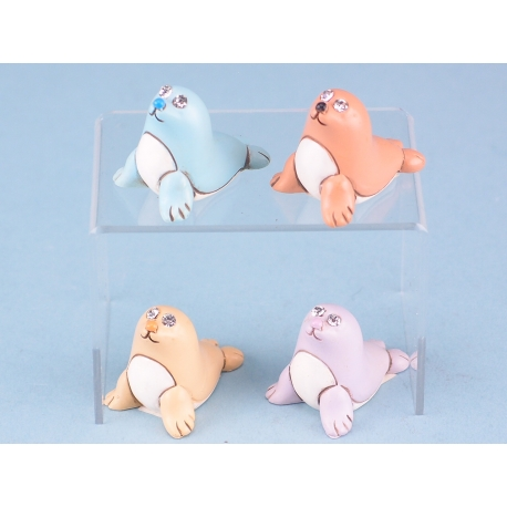 Mini colourful seals