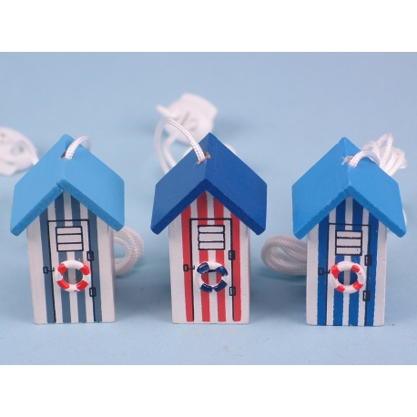 Nautical light pull - beach hut
