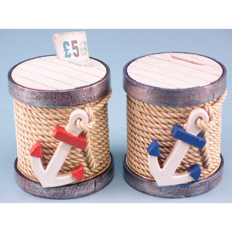 Capstan money box - 8.5cm