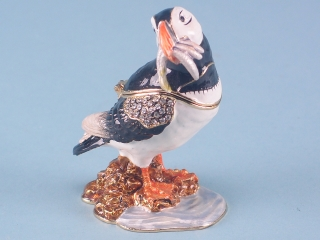 Cloisonne Puffin
