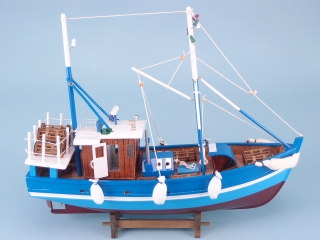 Blue Fishing Boat