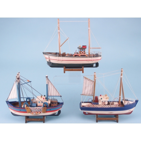 Distressed Finish Trawler assortment