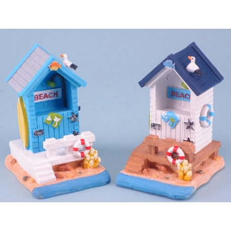 Beach hut with steps - large - 10cm