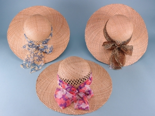 Vicky Ventilated Crown Seagrass Hat