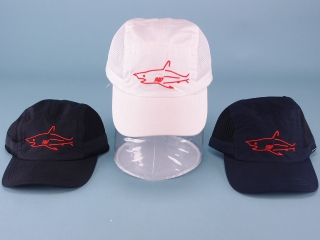 Boys Shark Cap with Mesh Panels