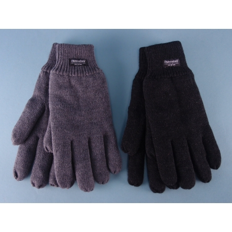 Mens Knitted Thinsulate Gloves