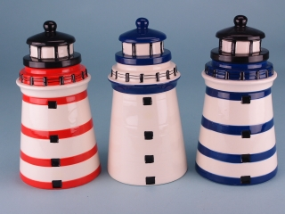 Lighthouse moneybox - 20cm