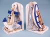 Nautical bookends - set 2
