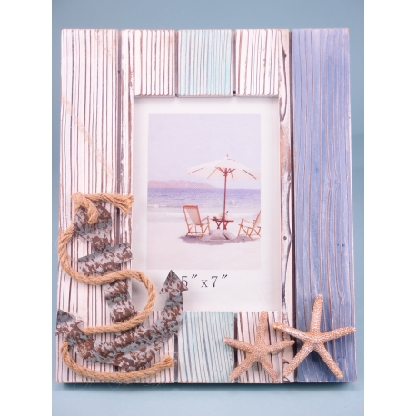 Quay and Sea Photo Frame - Small - for 5 x 7cm print