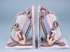 Quay and Sea Set of 2 Book Ends - 22 x 16cm