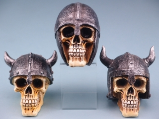 Mini Viking Skulls - 10cm