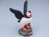 Puffin On Rock - 12cm
