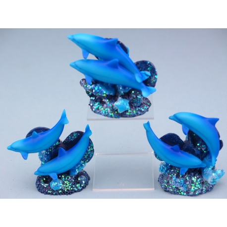 Dolphin pair on Propellor - 7.5cm