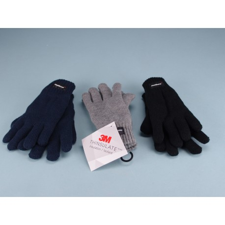 Childs Knitted Thinsulate Gloves