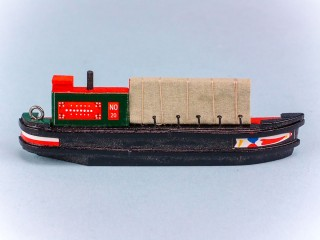 Canal Boat Magnet - Working Boat