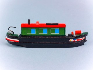 Canal Boat Magnet - Leisure Boat