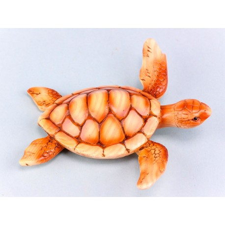 Wood Effect Turtle- 13cm