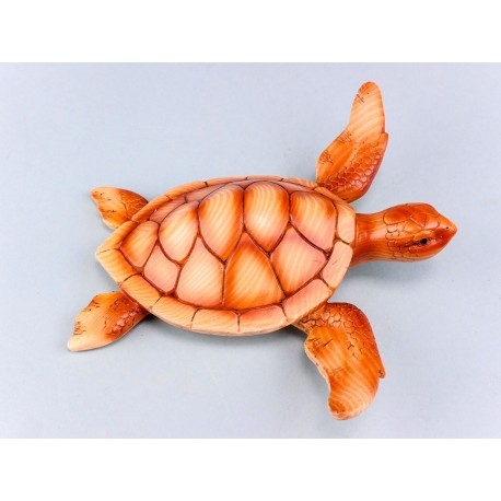 Wood Effect Turtle- 18cm