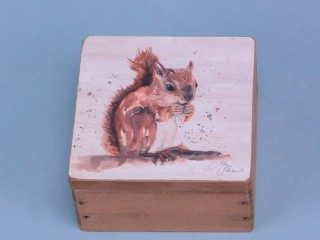 Squirrel box - 9x9cm