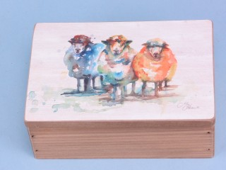 Sheep box - 15x10cm