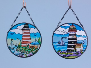 Lighthouse suncatcher - 11.5cm
