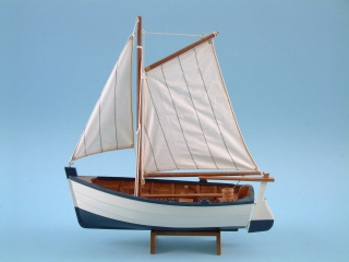 Sailing Boat with Oars