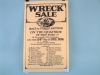 Wreck Sale Poster - Flat