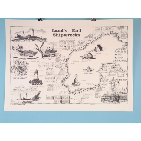 Lands End Shipwrecks - Scroll