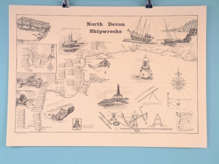 North Devon Shipwrecks - Scroll