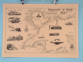 North Wales Shipwrecks - Scroll