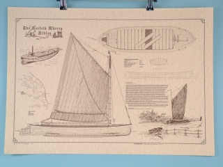 "Norfolk Wherry ""Albion"" - Scroll"