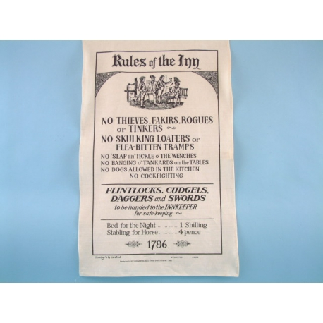 Rules of the Inn Galley Cloth
