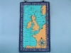 UK Shipping Areas Galley Cloth