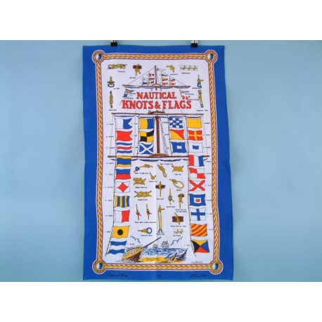 Knots & Flags Galley Cloth